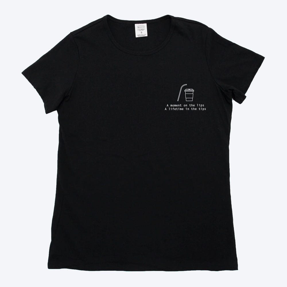 Womens Organic T-shirt Black