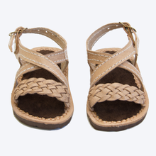 Load image into Gallery viewer, Braided Leather Sandals