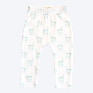 Organic Cotton Baby Leggings - Buckets