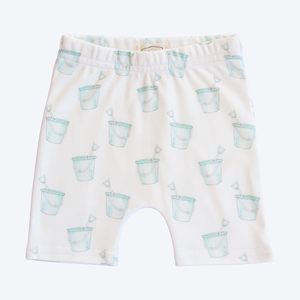 Organic Cotton Baby Shorts - Buckets