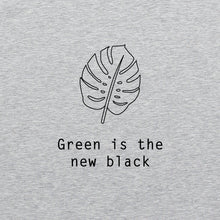Load image into Gallery viewer, Green is the new black shirt