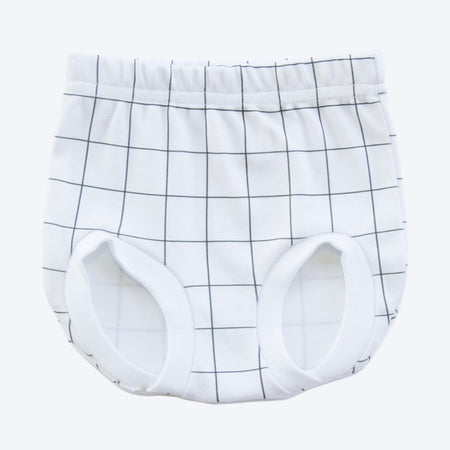 Grid Organic Nappy Cover