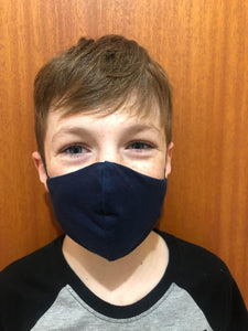 Kids Organic Cotton Face Mask