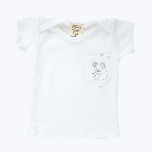 Koala Pocket Organic T-Shirt