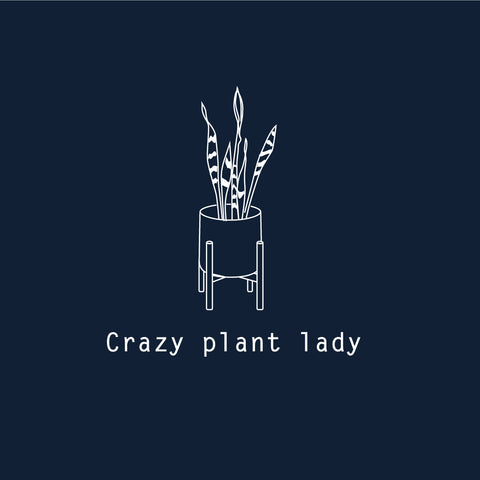 Crazy Plant Lady - Woman Printed Organic T-shirt
