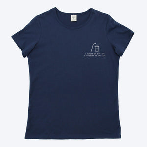 Choose to Reuse - Woman Printed Organic T-shirt