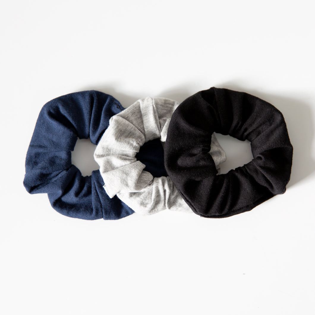 Organic Scrunchies 3pack