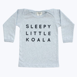 Sleepy Koala long sleeve shirt