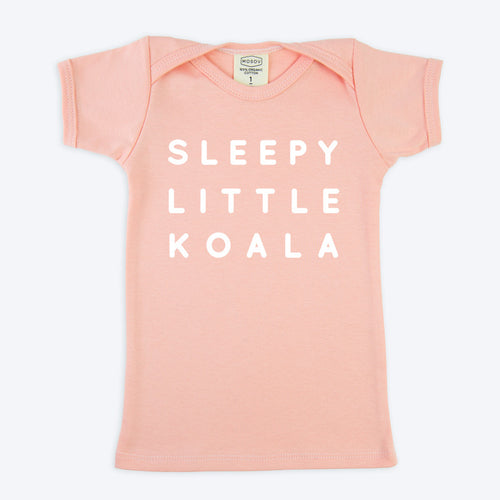 Sleepy Koala Pink T-shirt