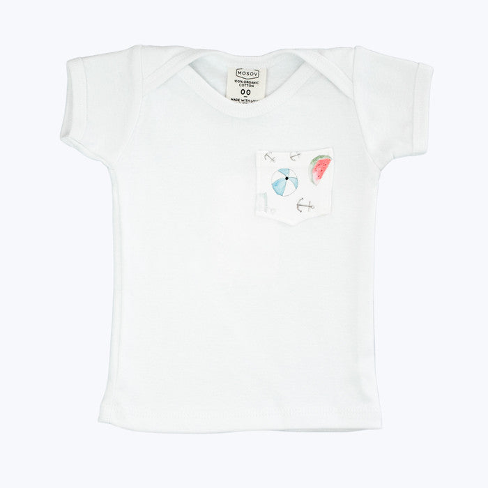 Summer Pocket Organic T-Shirt