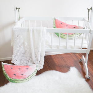 Watermelon Organic Cotton Cushion