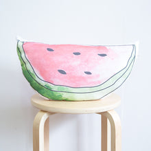 Load image into Gallery viewer, Watermelon Organic Cotton Cushion