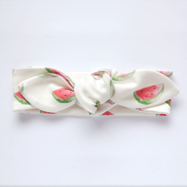 Watermelon Organic Cotton Knot Headband