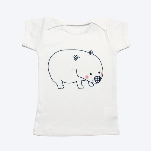 Organic Cotton Wombat Baby T-shirt