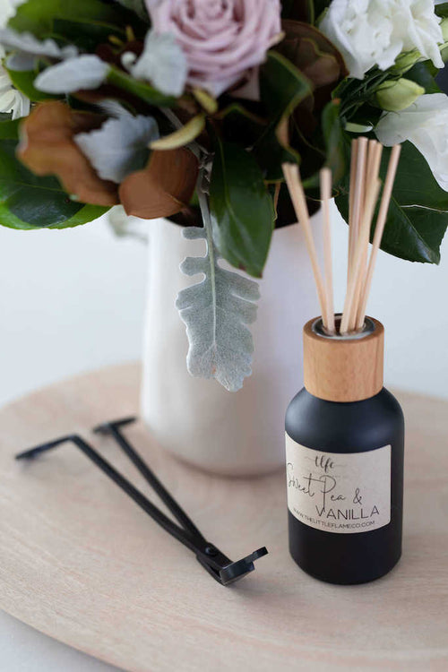 Matte Black Reed Diffuser