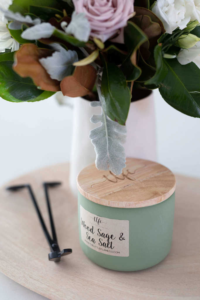Wood Sage and Sea Salt Canister Candle