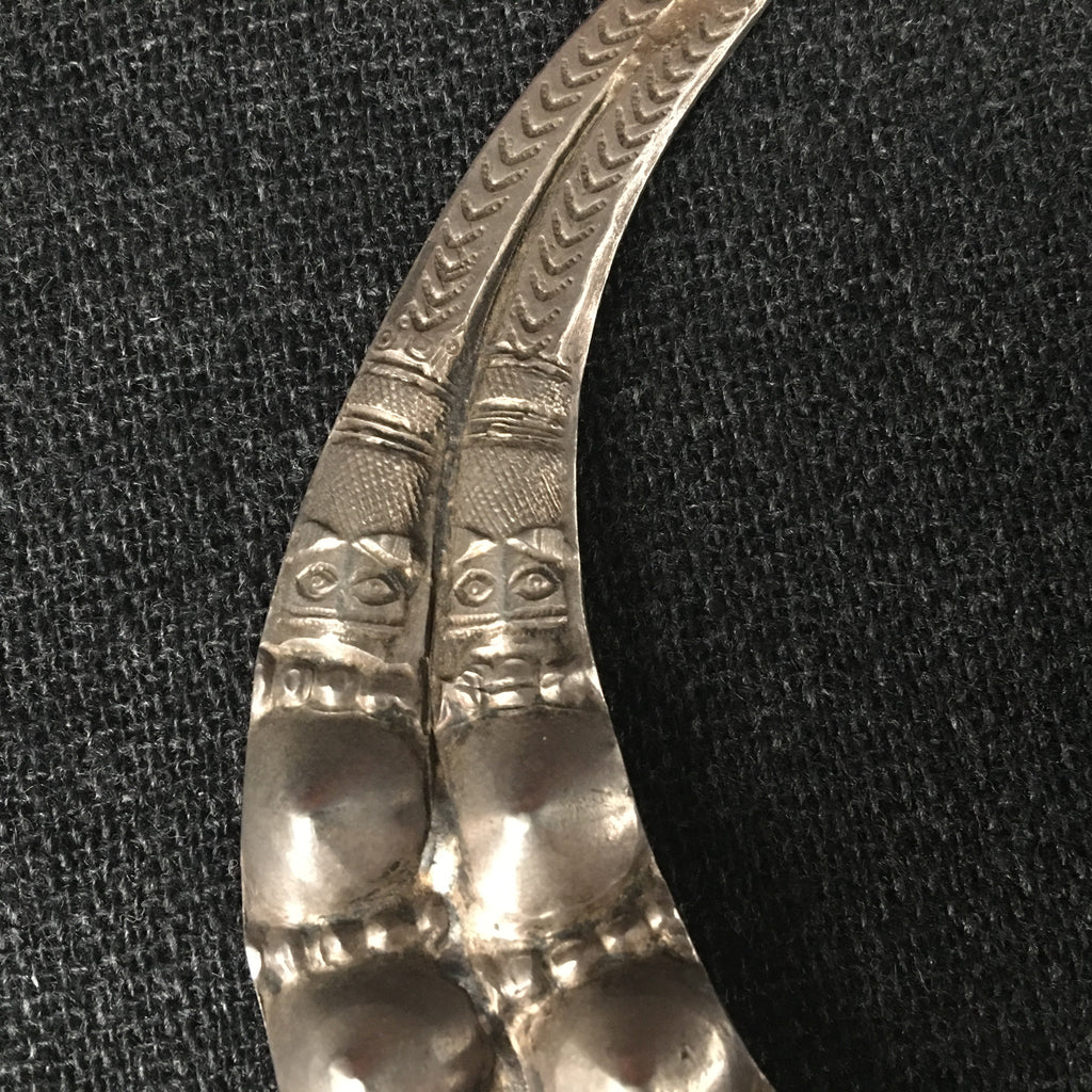 Antique Handmade Nagaland Silver Pendant at Mahakala Fine Arts