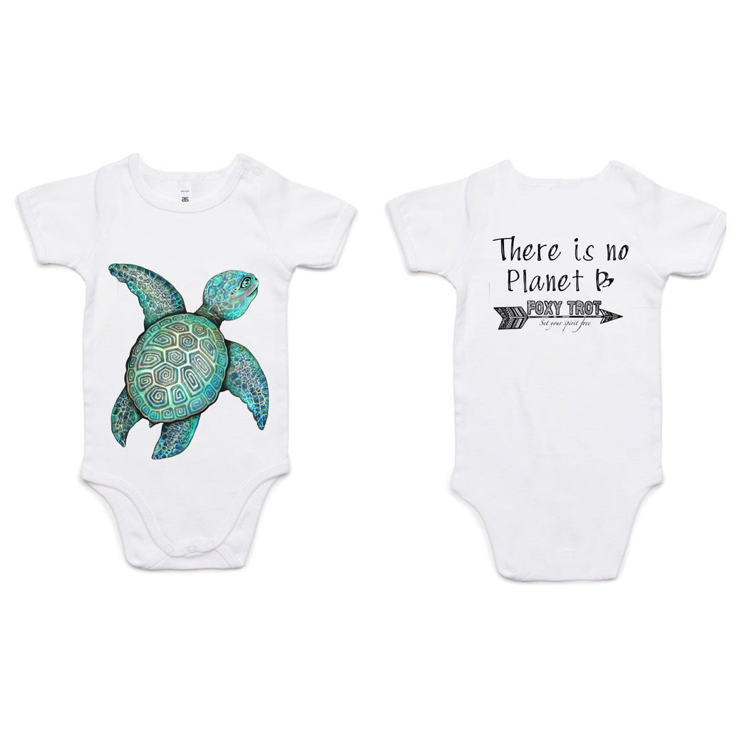 Turtle 100% Cotton Onesie