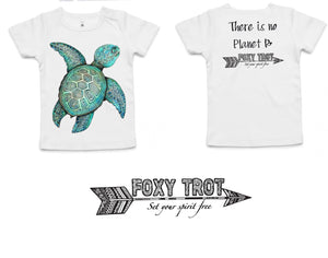 Turtle 100% Cotton Wee Tee 18-24mths ONLY