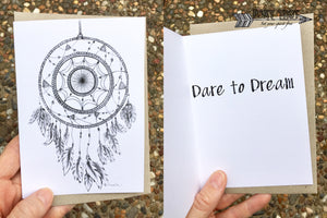 Dare to Dream Inspirational Card