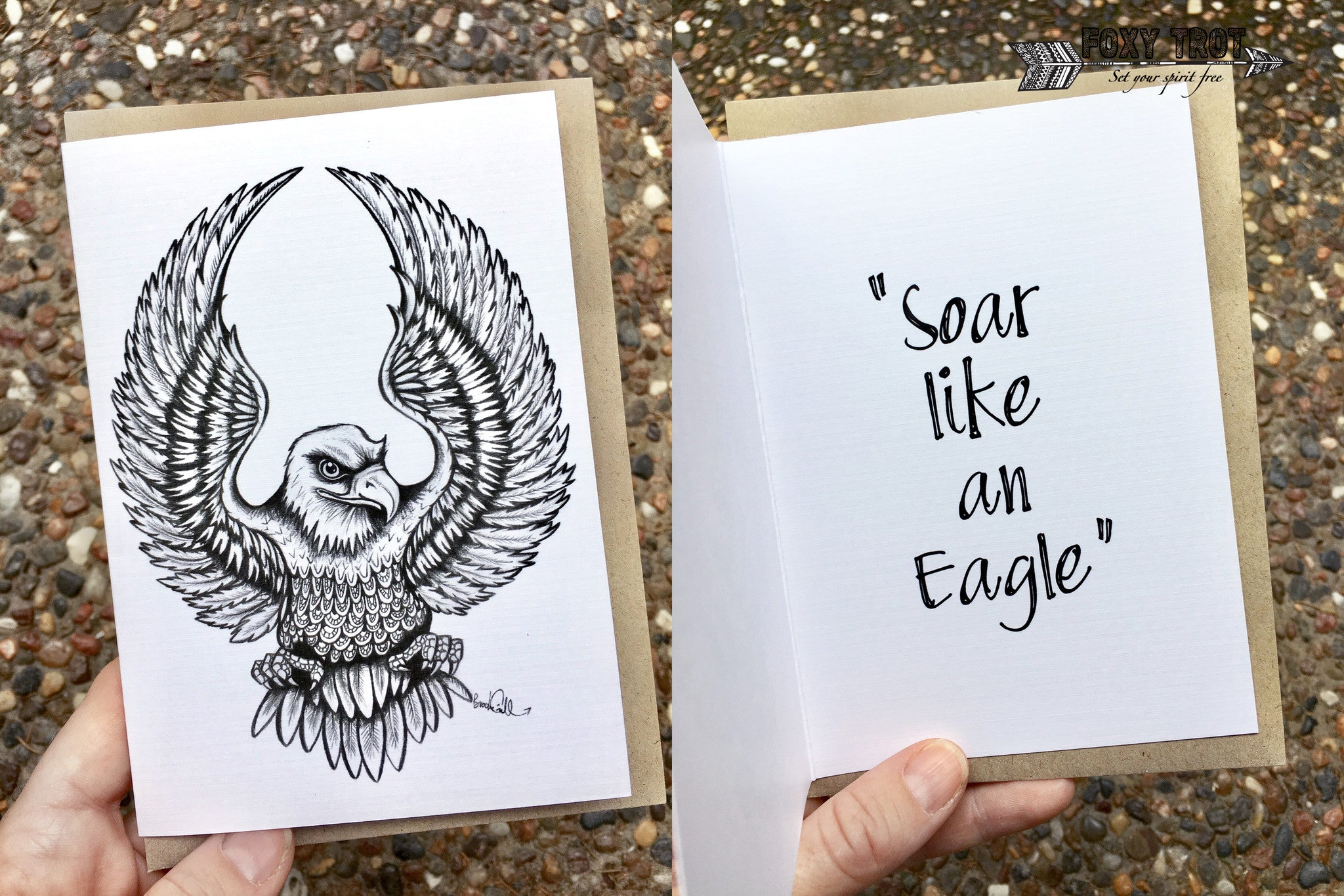 Eagle Inspirational Card