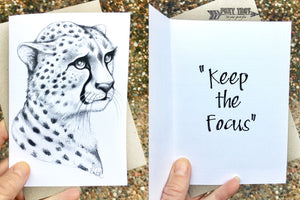 Mumma Cheetah Inspirational Card