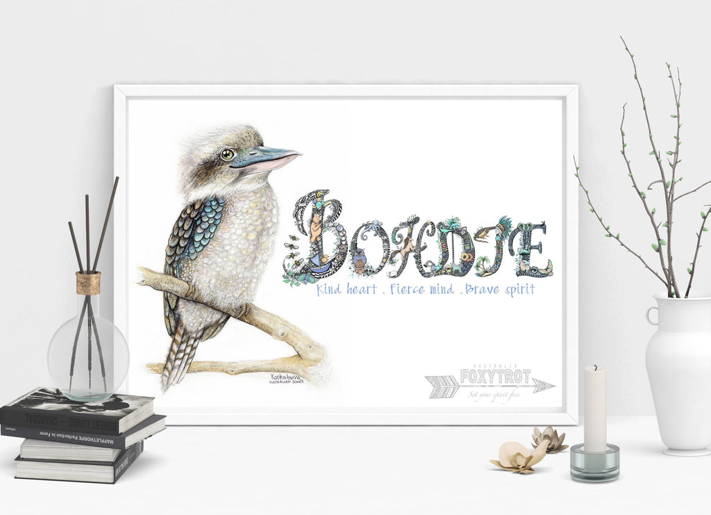 Custom Name Sample - KOOKABURRA