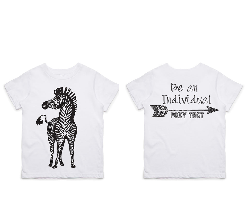 Zebra 100% Cotton Tee