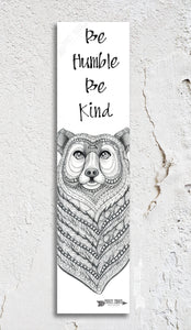 Bear Inspirational Bookmark