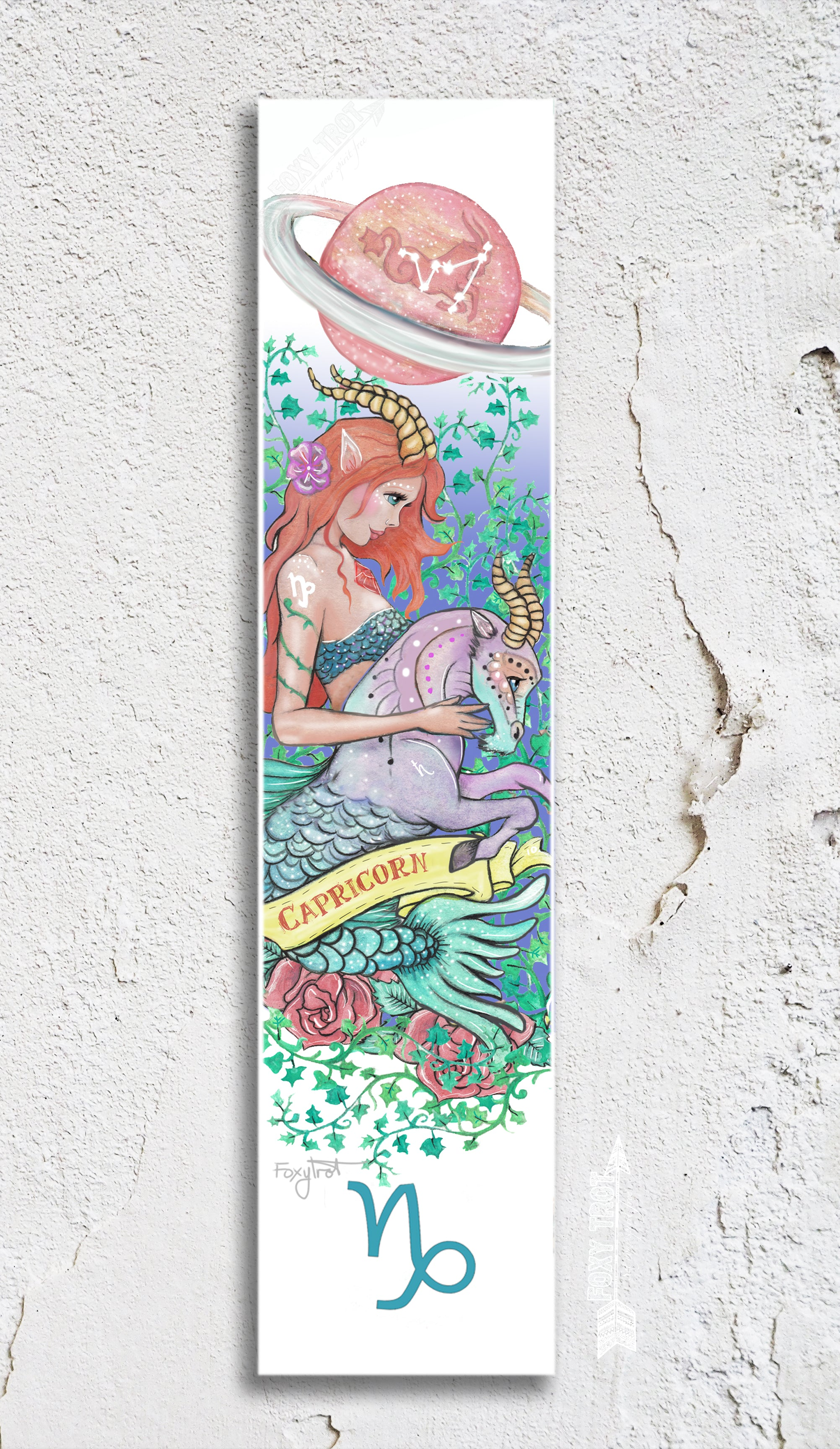 Zodiac Capricorn Bookmark