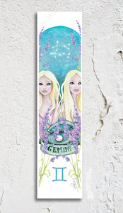 Zodiac Gemini Bookmark