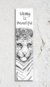 Tigress Inspirational Bookmark