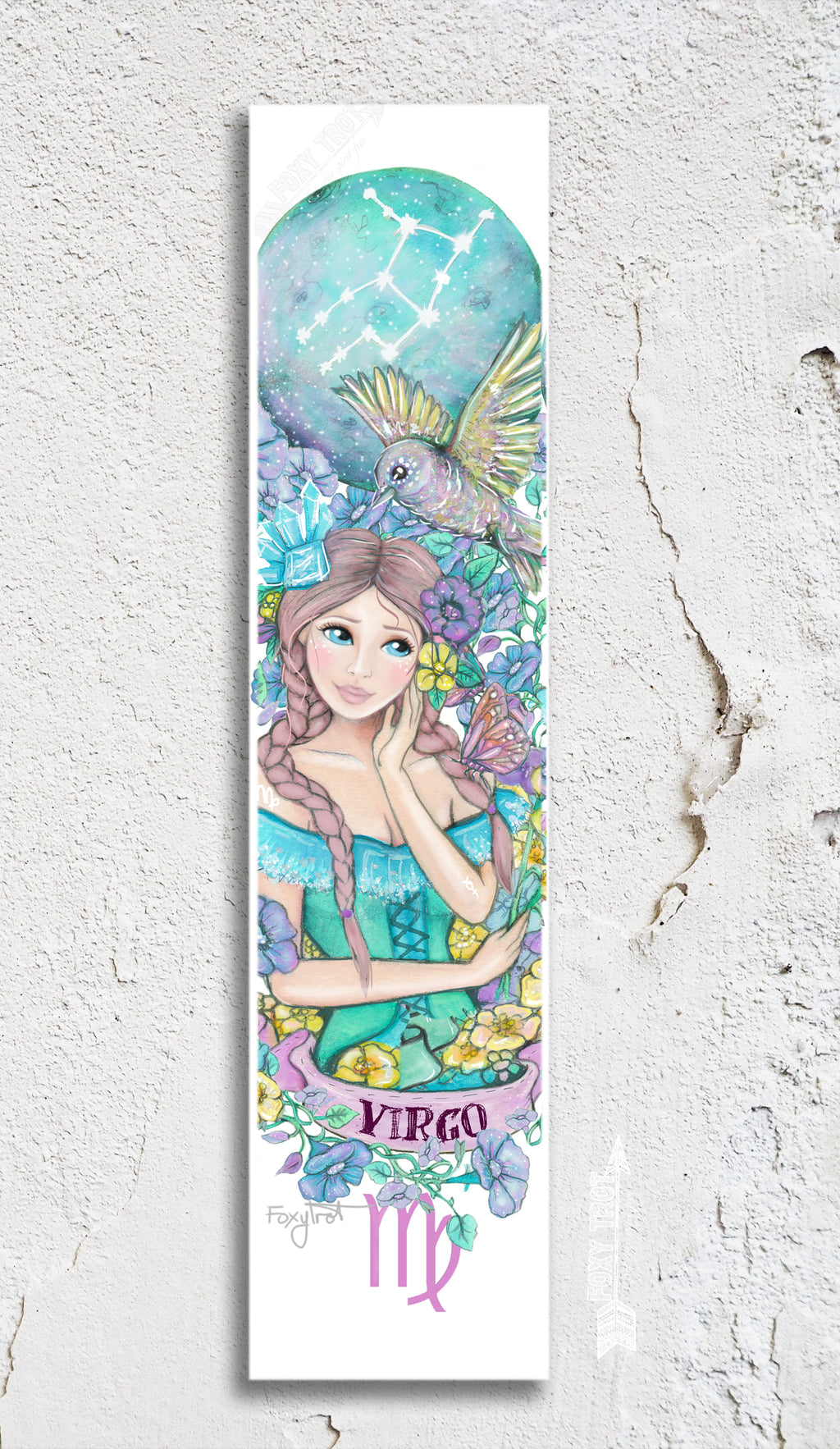 Zodiac Virgo Bookmark