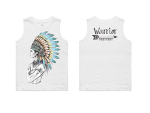 Kids Chief Warrior 100% Cotton TANK