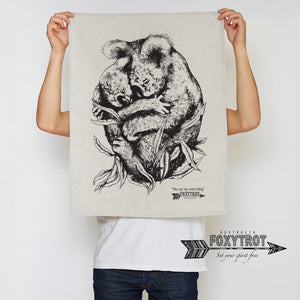 """You are my everything"" Koala Tea Towel"