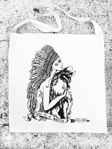 Soul Of A Warrior Bag