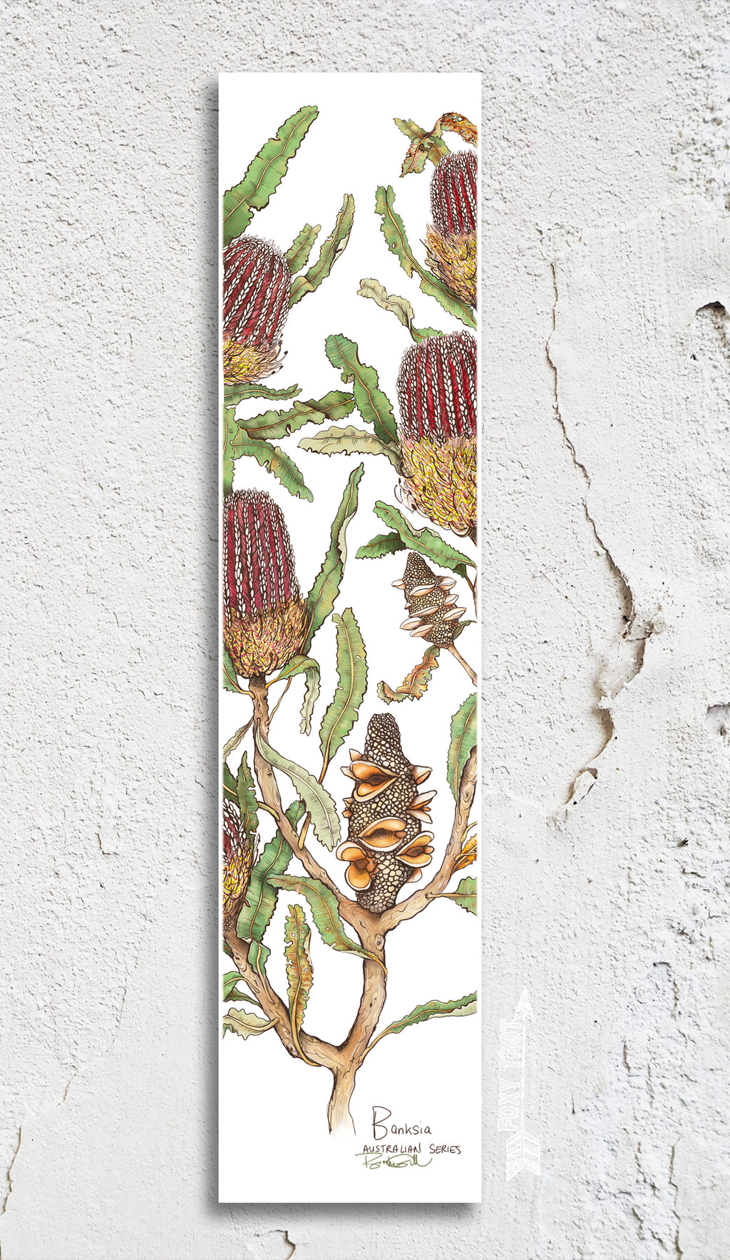 Banksia Bookmark