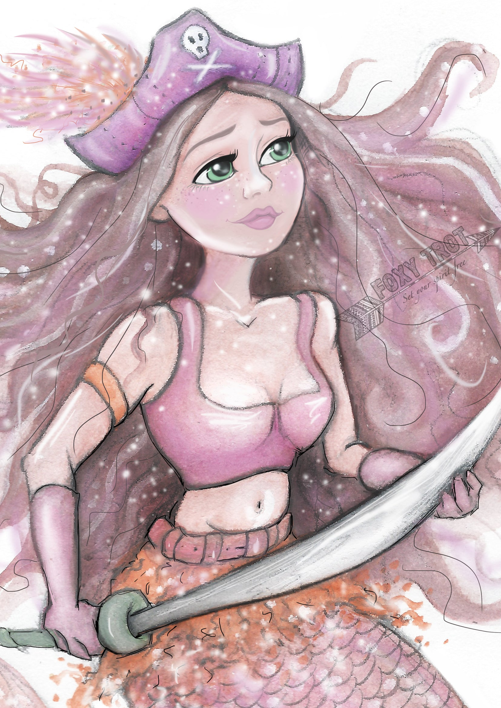 Pirate Phoebe The Mermaid