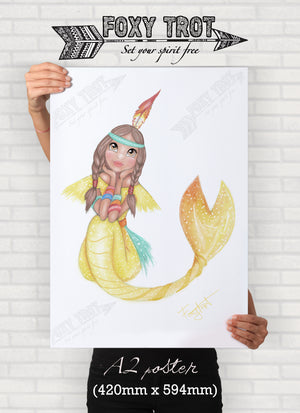 Tiger-Lily the Mermaid