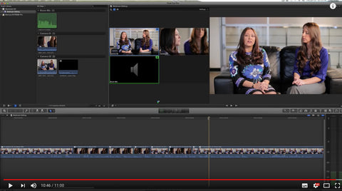 Tutorial: Basic Multicam Editing in FCP X by Streaming Media Producer
