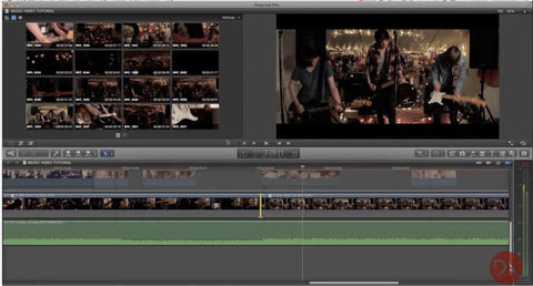 Cutting Music Video | Workflows using Multi-Cam by Dan Allen