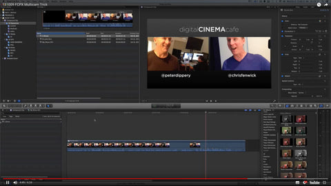 FCPX Advanced Multicam Trick by DigitalCinemaCafe