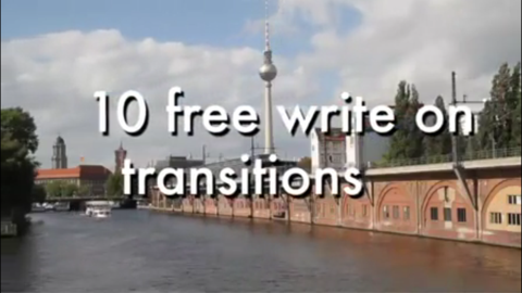 10 free write on transitions