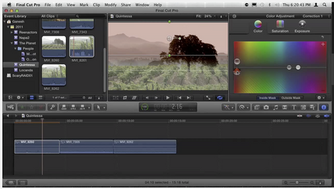Color Correction in FCP X by Ripple Training
