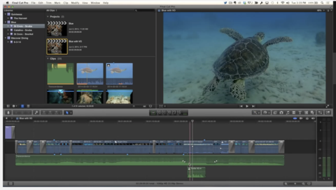 Recording Voiceover in Final Cut Pro X