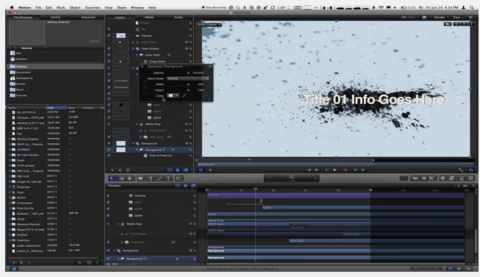 9. MBS #151: Setting up a Rig in Motion 5 for Final Cut Pro X