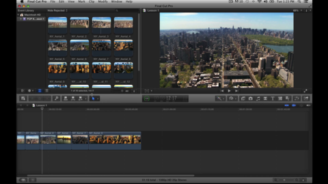 Learning Final Cut Pro X