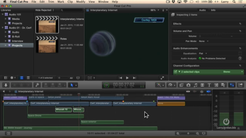 Examine Using Roles in FCP X
