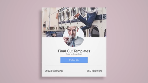 Social Package by Motion Master Templates