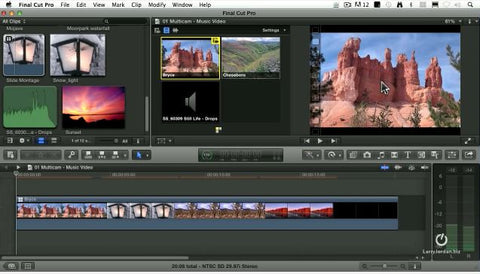 Use Multicam to Create a Slide Montage - Final Cut Pro X